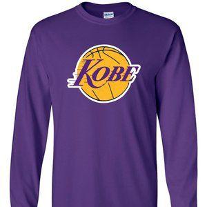 Kobe Bryant LA Lakers LONG SLEEVE YOUTH XL